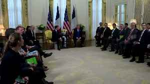 News video: France and EU ready to face off U.S. tariff threat