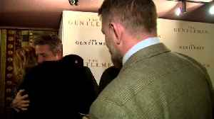 "News video: Hugh Grant and Sting join Guy Ritchie for ""The Gentlemen"" London screening"