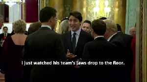 NATO leaders' conversation overheard at Palace reception [Video]