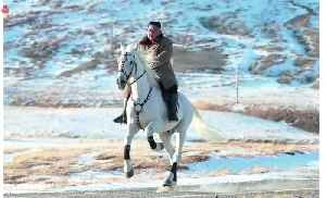 New horse ride signals more confrontational stance from North Korean leader [Video]