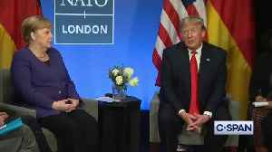 """Trump calls Trudeau """"two-faced"""" for criticizing him behind his back [Video]"""