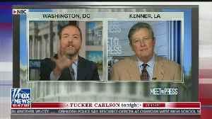Tucker slams Chuck Todd for 'McCarthyite tactics' against GOP senator [Video]
