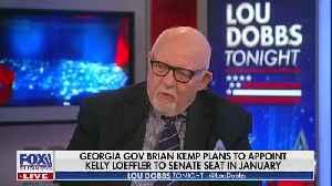 News video: Lou Dobbs rips Georgia governor Brian Kemp for choosing Kelly Loeffler