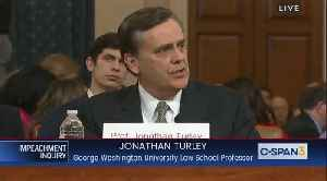"""News video: Legal expert Jonathan Turley calls legal case against Trump """"woefully inadequate"""""""