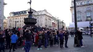 News video: New Bond trailer premieres on Piccadilly Circus screens