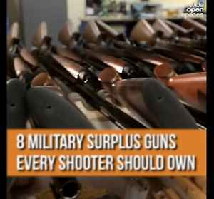 8 MILITARY SURPLUS GUNS EVERY SHOOTER SHOULD OWN [Video]
