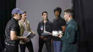 Brad Holds Auditions for the Jonas Brothers [Video]