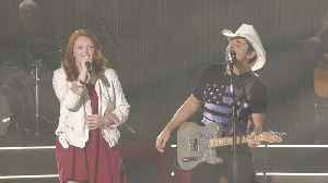 Brad Paisley Performs 'Alive Right Now' with Addie Pratt [Video]