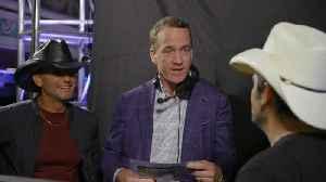 Peyton Manning Threatens to Put Tim McGraw In as Host [Video]