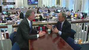 News video: Is Mayor De Blasio Jealous Of Bloomberg's 2020 Run?