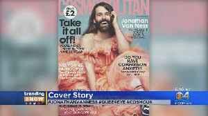 Jonathan Van Ness Makes Magazine History [Video]