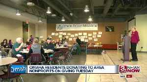 Omaha nonprofits celebrate Giving Tuesday [Video]