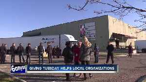 Giving Tuesday helps local organizations [Video]