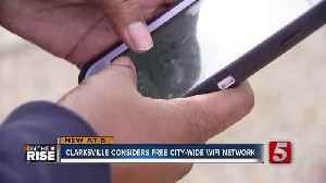 Clarksville considers free city-wide Wi-Fi network [Video]