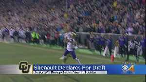 News video: Laviska Shenault, Jr. Heading To NFL Draft: 'Extremely Excited & Grateful'
