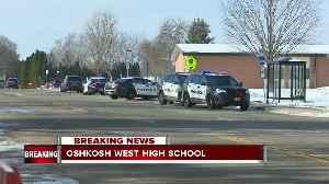 News video: Officer stabbed, student shot at Oshkosh West High School