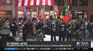 Worcester Remembers 6 Firefighters Lost In Cold Storage Warehouse Fire [Video]