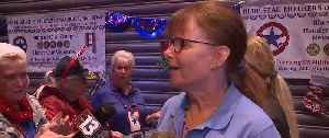 Quilter who honors vets is honored [Video]