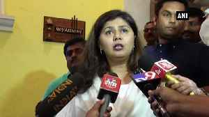 Have worked for BJP, distressed with allegations Pankaja Munde on joining Shiv Sena [Video]