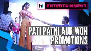 Kartik Aaryan, Ananya Panday promote Pati Patni Aur Woh at Mumbai's college [Video]