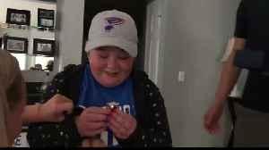 Bone marrow donor will meet St. Louis Blues superfan he helped [Video]
