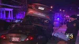 2 Children Injured When Police Pursuit Ends In Crash In Germantown [Video]