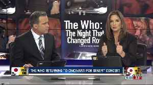 WCPO's Tanya O'Rourke announces The Who's return to Cincinnati area for 2020 concert 40 years after tragedy [Video]