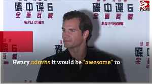 Henry Cavill hints at Man of Steel sequel [Video]