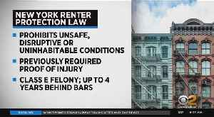 Cuomo Signs Renter Protection Law [Video]