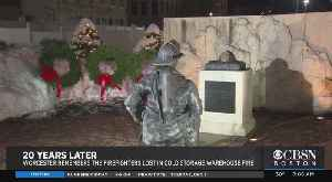 Ceremony Marks 20th Anniversary Of Worcester Cold Storage Fire That Killed 6 Firefighters [Video]