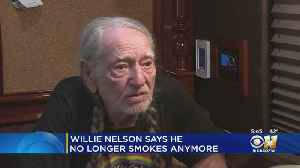 Country Music Legend Wille Nelson Has Stopped Smoking Weed [Video]