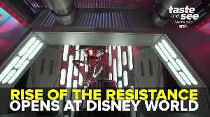 News video: Rise of the Resistance opens at Disney's Hollywood Studios | Taste and See Tampa Bay