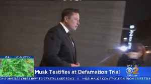 News video: Elon Musk To Testify A Second Day In Defamation Trial