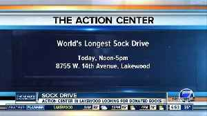 Lakewood nonprofit collecting socks for those in need [Video]