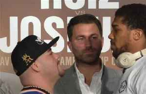 """Ruiz is just my next target"", says Joshua [Video]"