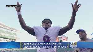 Ravens QB Lamar Jackson Led Cyber Monday's Sports Merchandise Sales [Video]