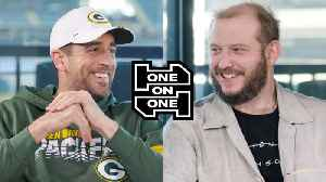 News video: Aaron Rodgers and Bon Iver's Justin Vernon Have an Epic Conversation