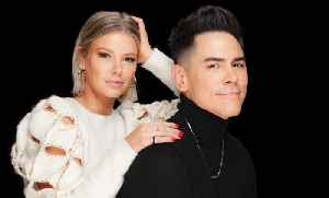 'Vanderpump Rules' Stars Ariana Madix & Tom Sandoval On Their Book, 'Fancy AF Cocktails,' & More [Video]