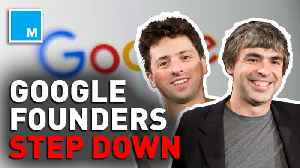 Google cofounders step down from roles as Alphabet execs [Video]