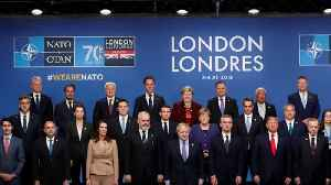 NATO cracks on display in London summit [Video]