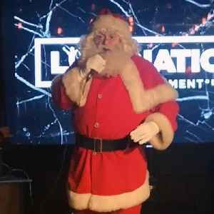 Santa stole the show at Live Nation's festive party! [Video]
