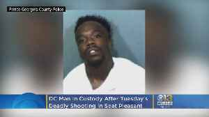 DC Man In Custody After Tuesday's Fatal Shooting In Seat Pleasant [Video]