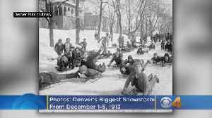 Photos: Denver's Biggest Snowstorm - Dec. 1-5,1913 [Video]