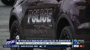 18-year-old shot, killed in Annapolis [Video]