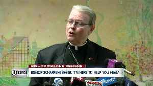 "Bishop Scharfenberger: ""I'm here to help you heal"" [Video]"