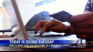 Finding a reputable charity on Giving Tuesday [Video]