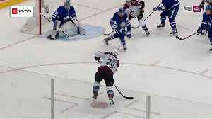 Nathan MacKinnon roofs wrister for PPG [Video]
