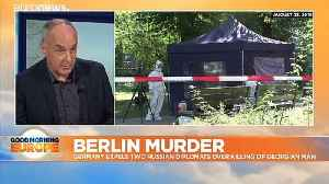 News video: Germany expels two Russian diplomats over murder of Chechen