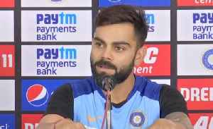 News video: India vs West Indies : Virat Kohli says Team India doesn't believe in T20I rankings | OneIndia News