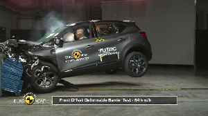 Renault Captur - Crash & Safety Tests -2019 [Video]